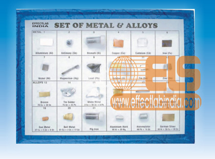 Alloys And Metal Collection